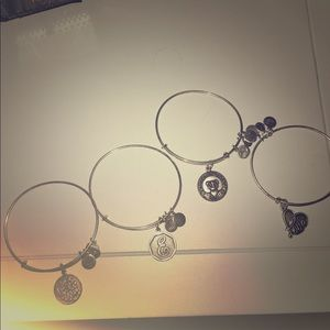 Alex and ani   Mom. E. Heart. All 4!